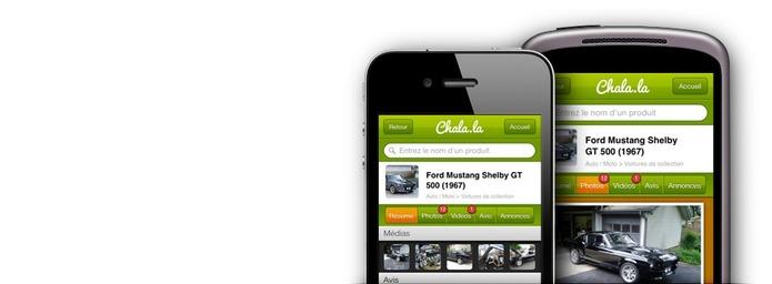Chala.la - Premier guide d'achat social ( 100 invitations )