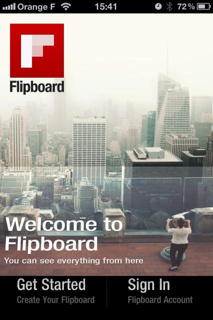 Flipboard débarque sur iPhone et en édition française