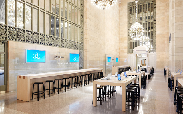 Apple Store - Un nouveau magasin au Grand Central Terminal