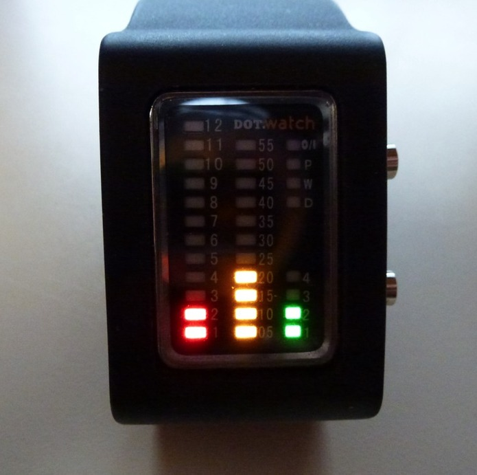 Dot.Watch - La montre geek du Noël 2011