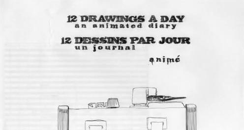 12 dessins par jour et une animation de 4 minutes