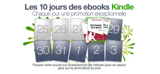 Les 10 jours Kindle d'Amazon