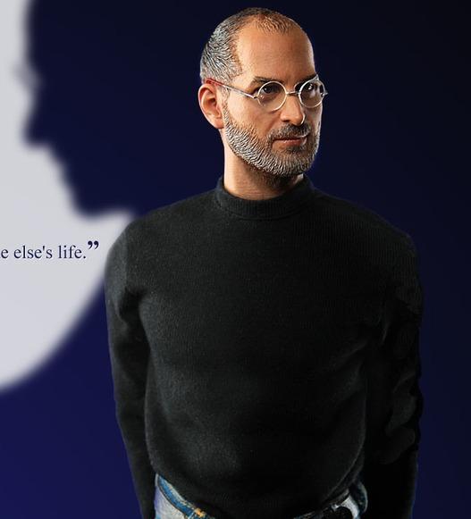 Un mini Steve Jobs de 30 cm pour sa maison