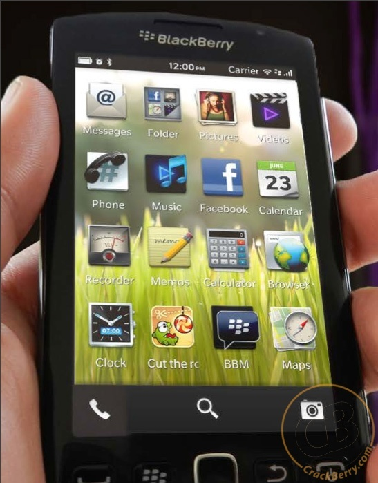 Blackberry OS 10 - Premières images