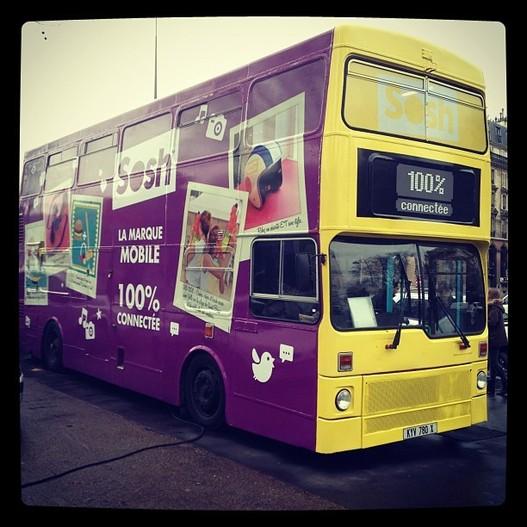 Venez visiter le Sosh Bus dans toute la France