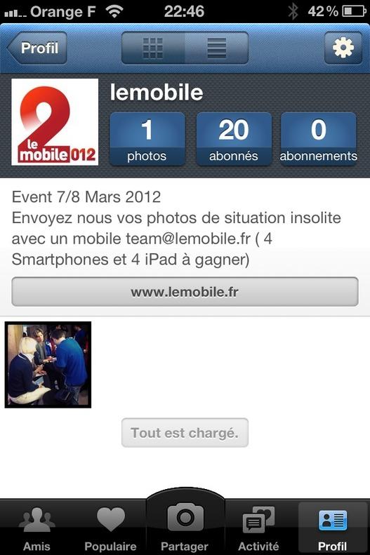 Participez au concours Instagram sur lemobile.fr