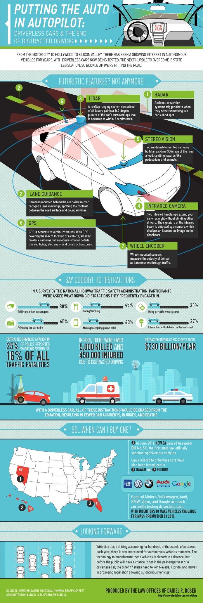 Les voitures sans conducteurs - Un avenir qui se rapproche? ( en 1 image )