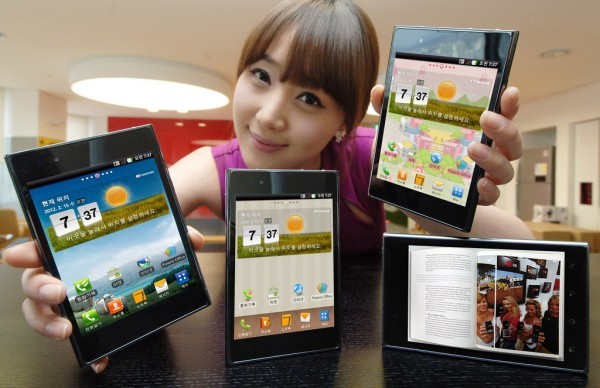 LG Optimus VU - Un concurrent pour le Galaxy Note