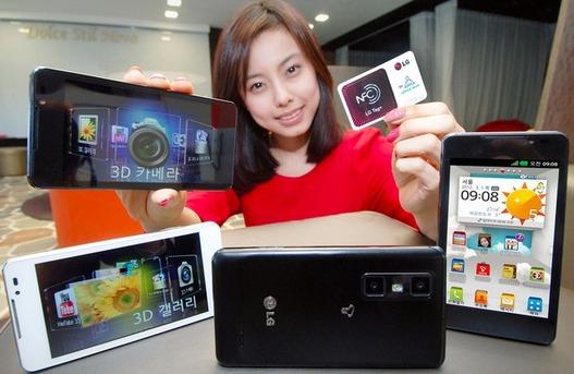 LG dévoile le LG Optimus 3D Max