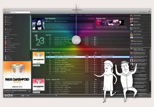 Spotify améliore son logiciel sur Mac et PC