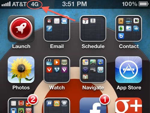 L'iPhone 4S passe en 4G grâce à l'iOS 5.1 chez AT&T !!!