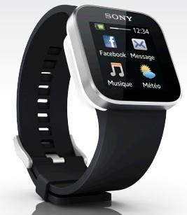 Sony vous donne l'heure avec la SmartWatch