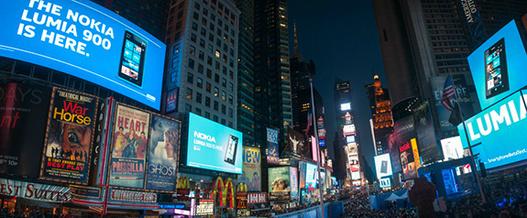 """Nokia invente le terme """"lumianesque"""" pour le lancement du Lumia 900 aux US"""