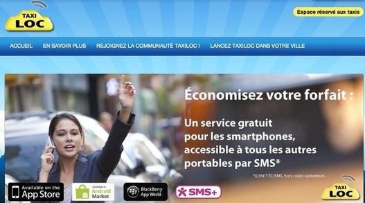 TaxiLoc - un taxi en 3 clics depuis votre mobile
