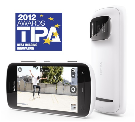 Le Nokia 808 PureView récompensé par la TIPA