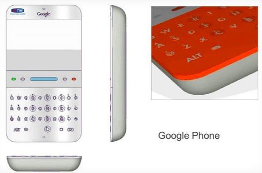 Le premier Google Phone présenté en 2006 et aussi...