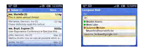 Android en 2006-2007 c'était comme ça