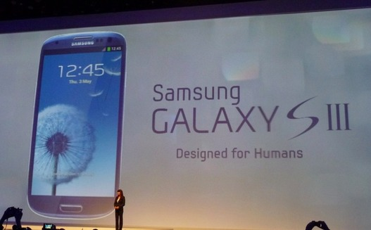 Samsung Galaxy S3 - La présentation depuis Londres