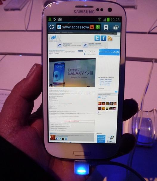 Samsung Galaxy S3 - Le 25 Mai chez Virgin Mobile