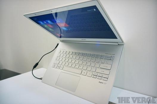 L'Aspire S7 d'Acer un ultrabook tactile sans compromis ou presque