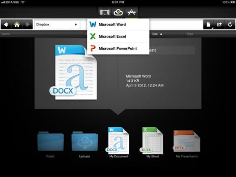 Microsoft Office sur iPad avec CloudOn