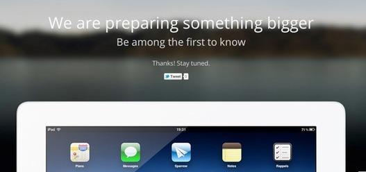 Sparrow bientôt sur iPad