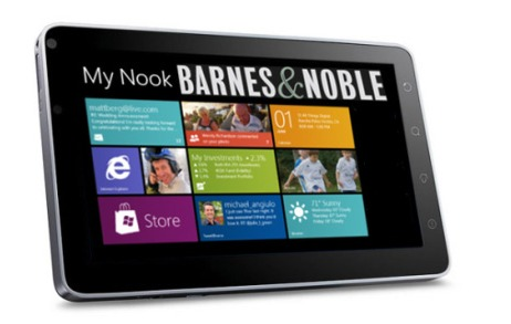 Microsoft + Barnes & Noble - Une tablette Windows 8 + Xbox Live streaming?
