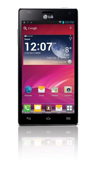 LG va bientôt sortir l'Optimus 4X HD