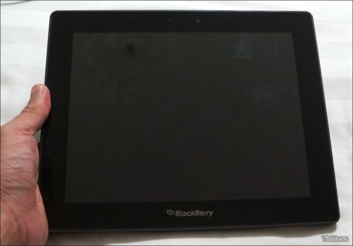 Blackberry Playbook 10 pouces - Les premières photos