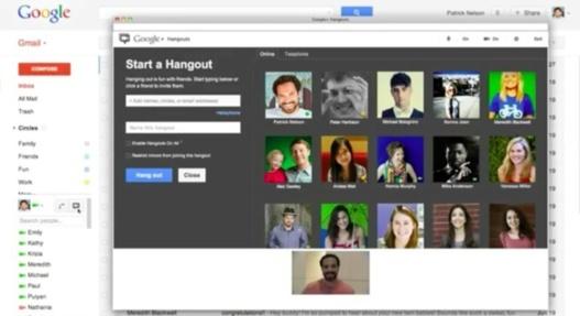 Le chat vidéo avec Hangouts arrive dans Gmail
