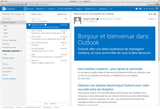Windows Phone 7 digère mal Outlook.com