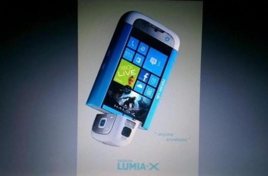Photo d'un Nokia Lumia X sous WP8