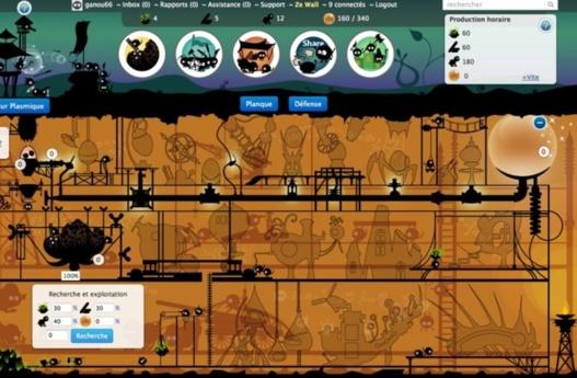 Branes Battle - Un nouveau jeu en ligne (coup de pouce)