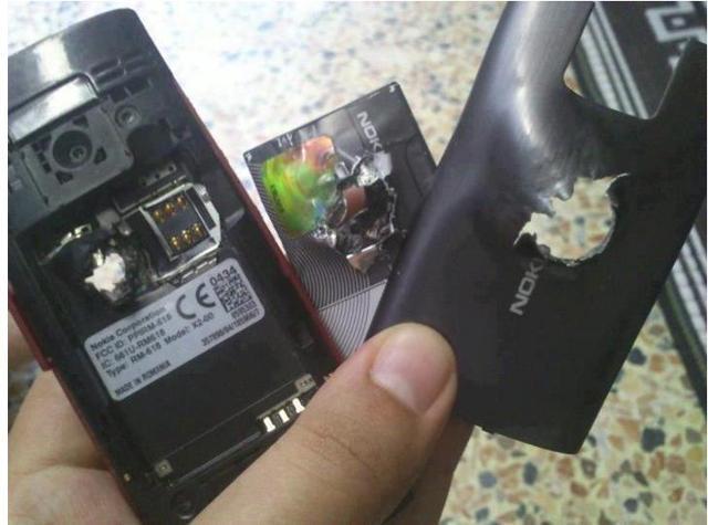 Sauvé par un Nokia X2 en Syrie