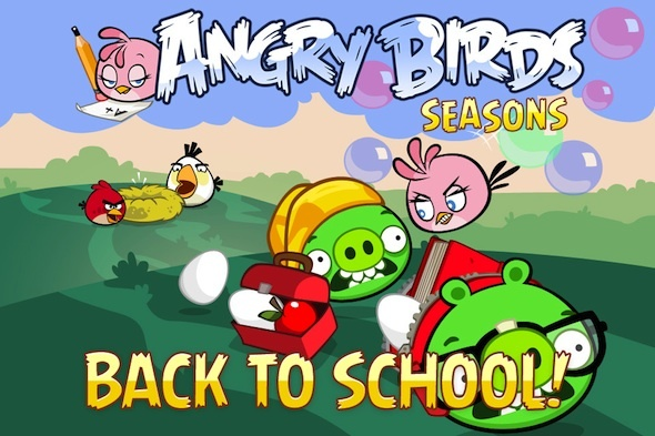 Angry Birds Seasons - 20 nouveaux niveaux et 1 nouvel oiseau disponible maintenant