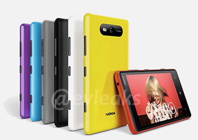 Nokia Lumia 820 et Lumia 920 PureView le 5 Novembre en France?