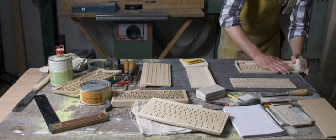 Orée, le clavier high tech en bois massif, made in France
