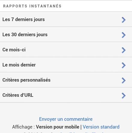 Google Adsense - La nouvelle version mobile