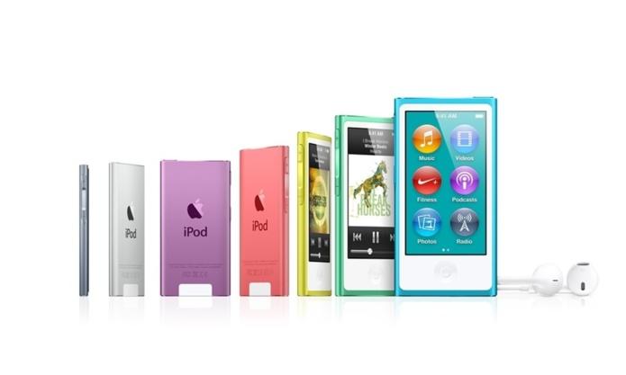 Les nouveaux iPod Nano sont là !