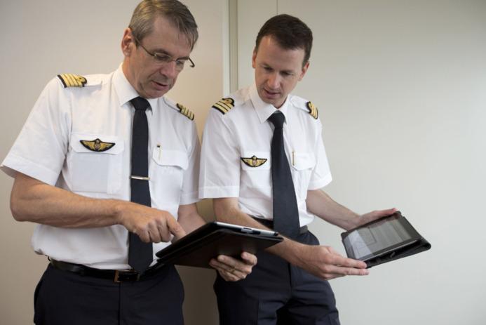 Air France équipe ses pilotes d'iPad