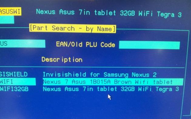 Une Nexus 7 32 Go pour bientôt