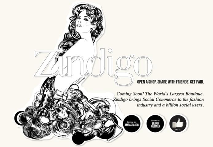 Zindigo - Le social commerce via Facebook (avant il y avait Zlio)