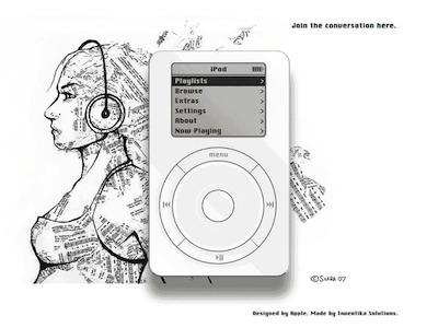 Le tout premier iPod en HTML5