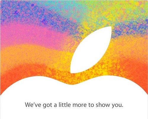 iPad Mini - Apple officialise la keynote du 23 octobre
