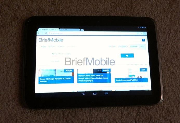 Google - Les photos et vidéos officieuses de la tablette Samsung Nexus 10
