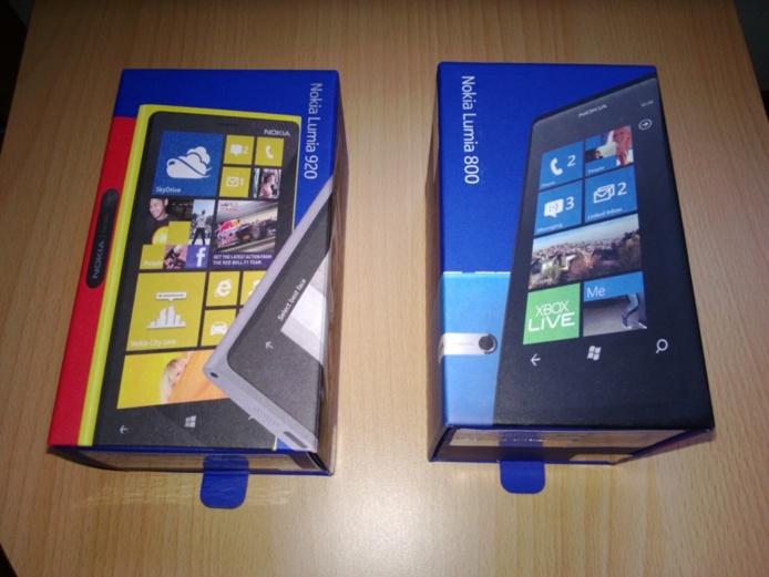 Déballage du Nokia Lumia 920 et premières impressions sur Windows Phone 8