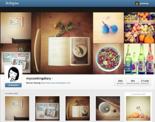 Instagram lance une version web ( page profil )