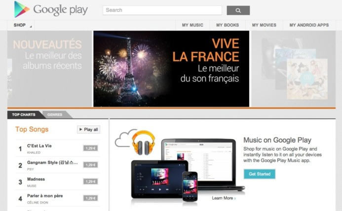 Google Play Music en France c'est maintenant