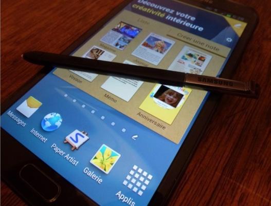 Galaxy Note 2 - 5 millions d'unités vendues en 2 mois