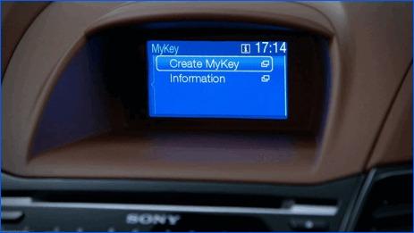 Ford et MyKey en Europe c'est pour maintenant